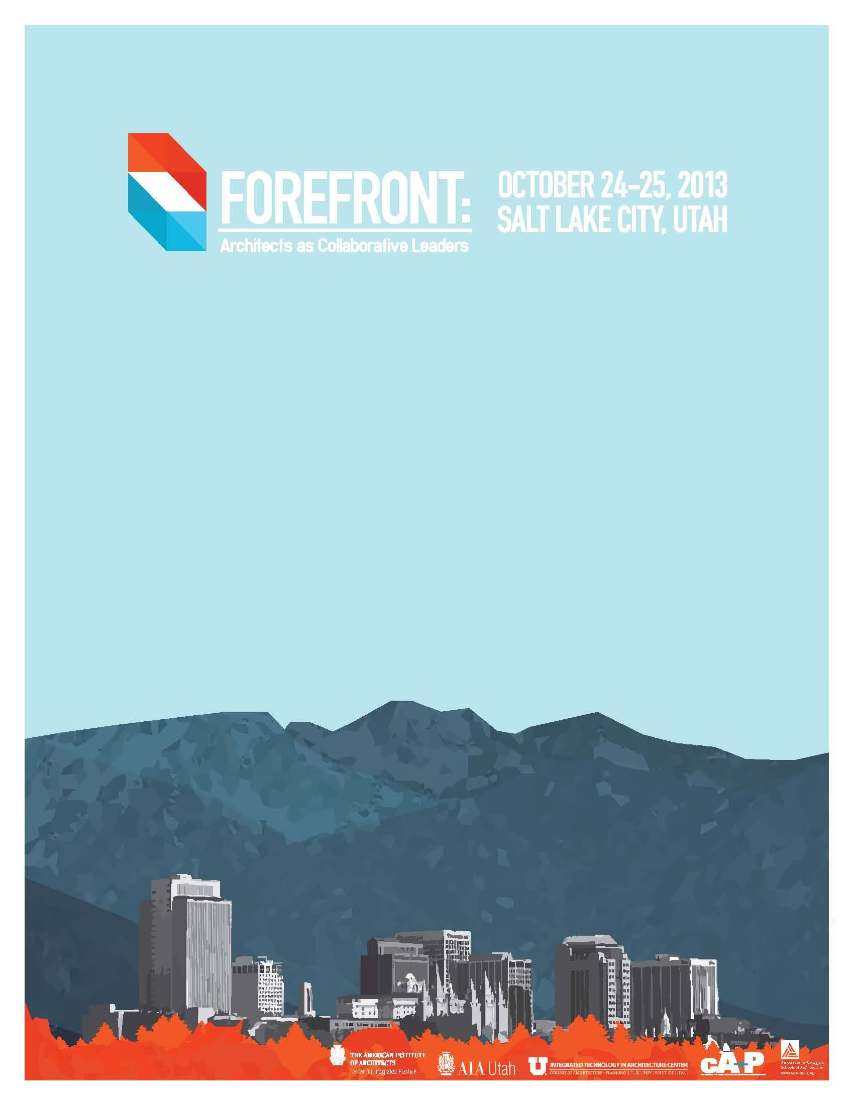FOREFRONT Conference Program Cover