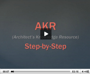 AKR Step by Step: Uploading a Project Profile