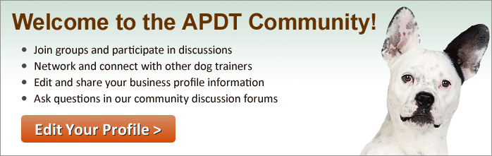 Welcome to the APDT Community