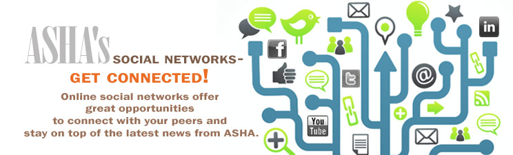 ASHA's social networks - get connected!