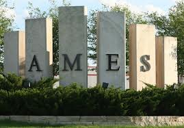 Ames Welcome Sign