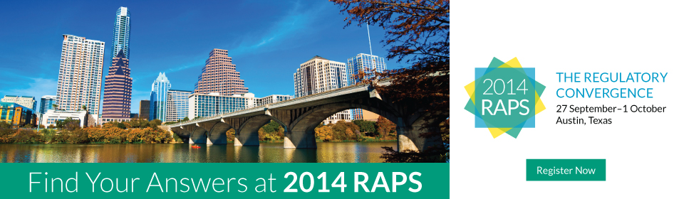 2014 RAPS: The Regulatory Convergence