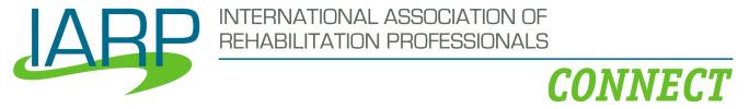 International Association of Rehabilitation Professionalss