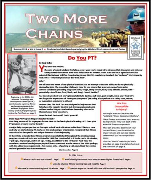 Two More Chains Summer 2014
