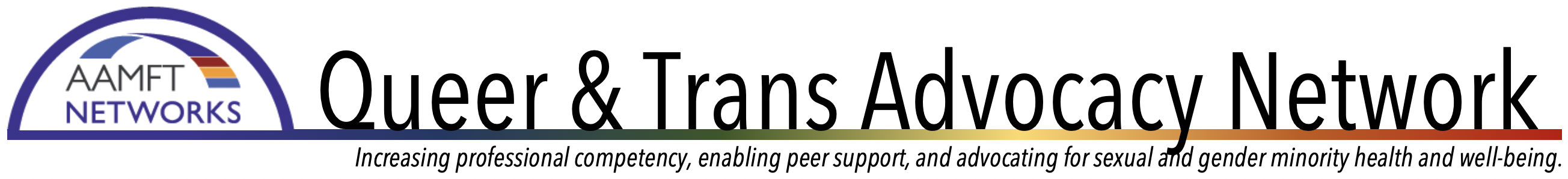 Queer and Trans Advocacy Network - AAMFT Networks