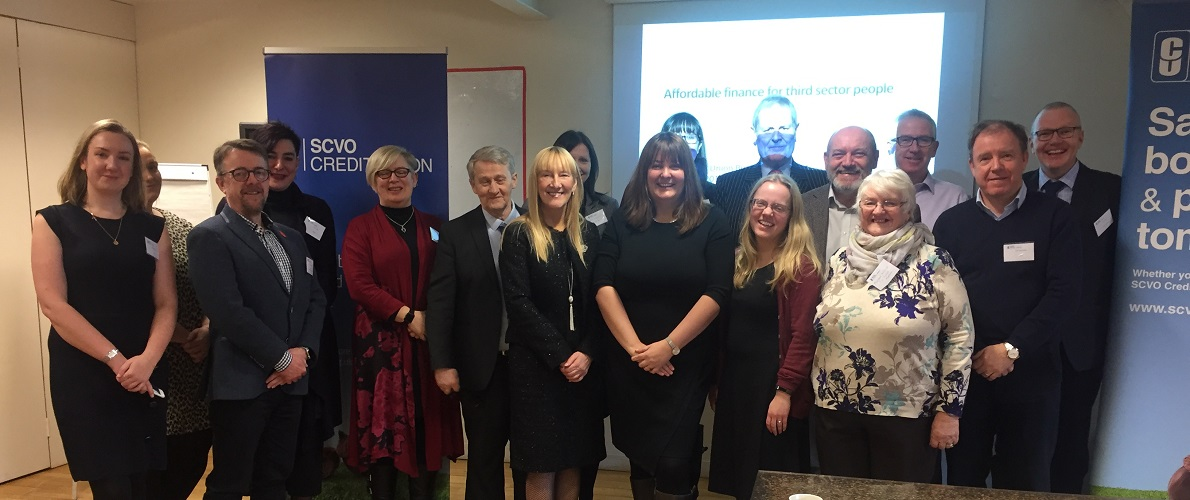SCVO Credit Union host business meeting with Ruth Maguire MSP