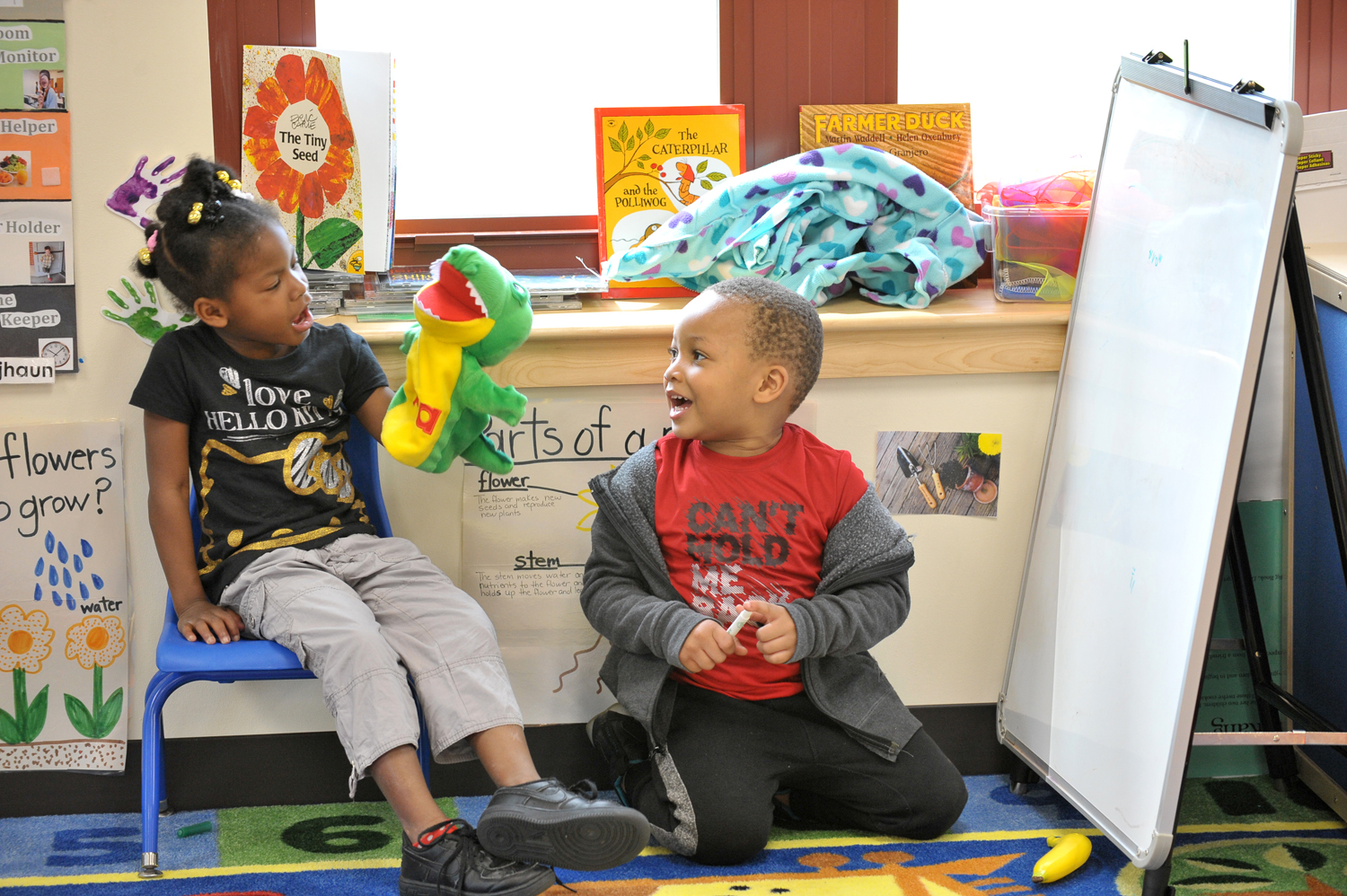 Dolton Puppet Play