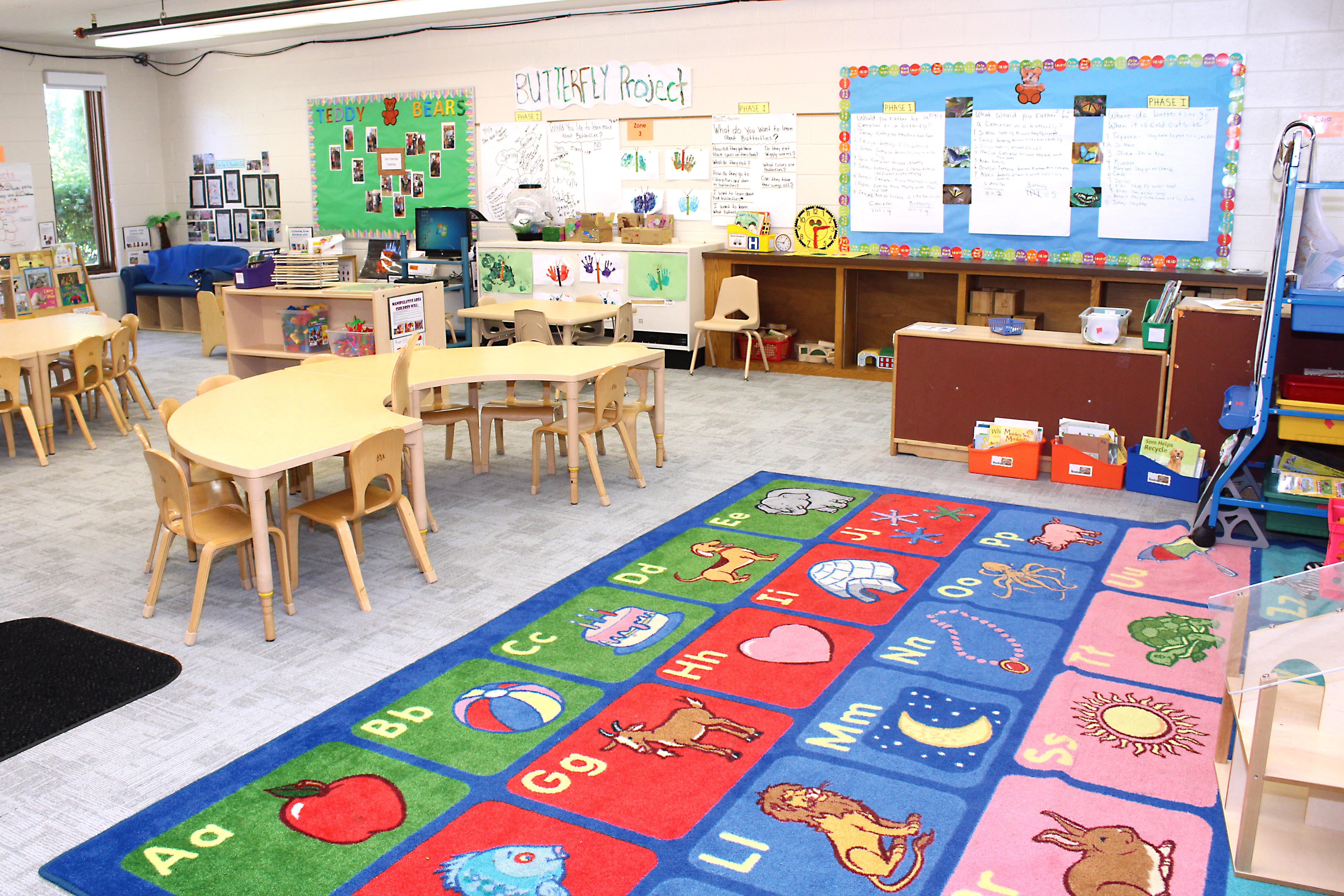 Harvey-South Holland Classroom