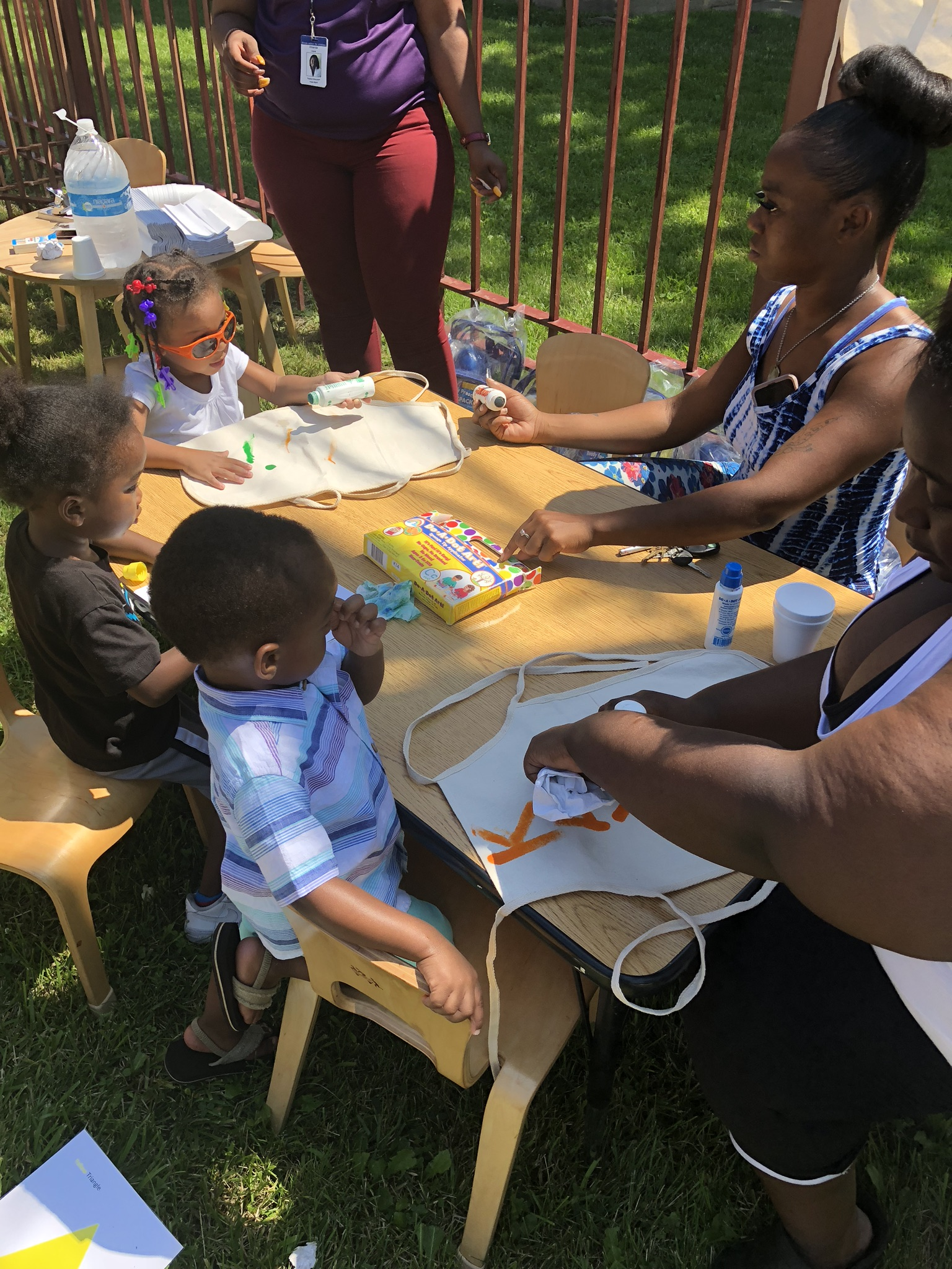 Ford Heights Painting Activity