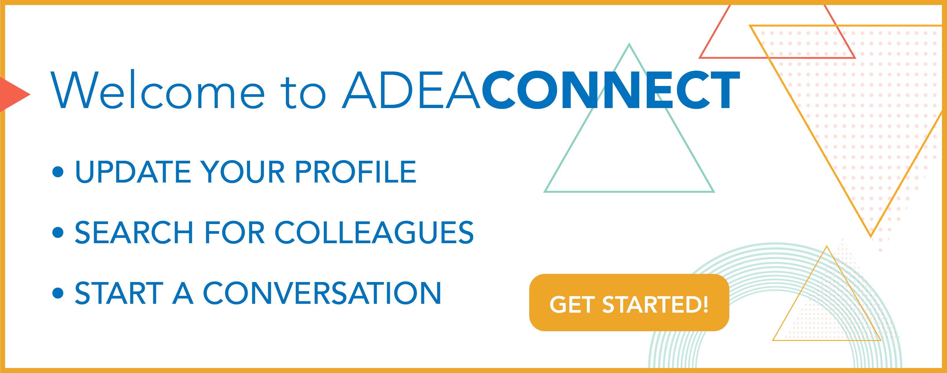 ADEA Connect placeholder
