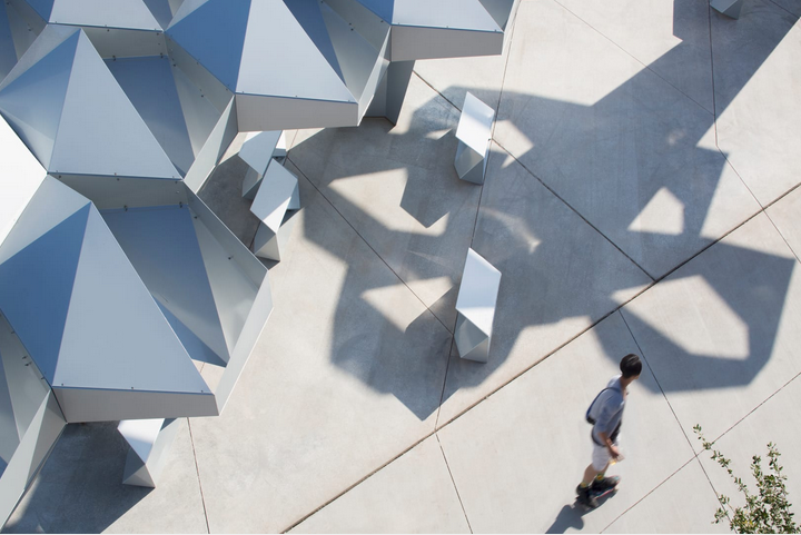 2018 Small Project Awards Recipient Shadow Play by Howler & Yoon, Architecture, LLP.