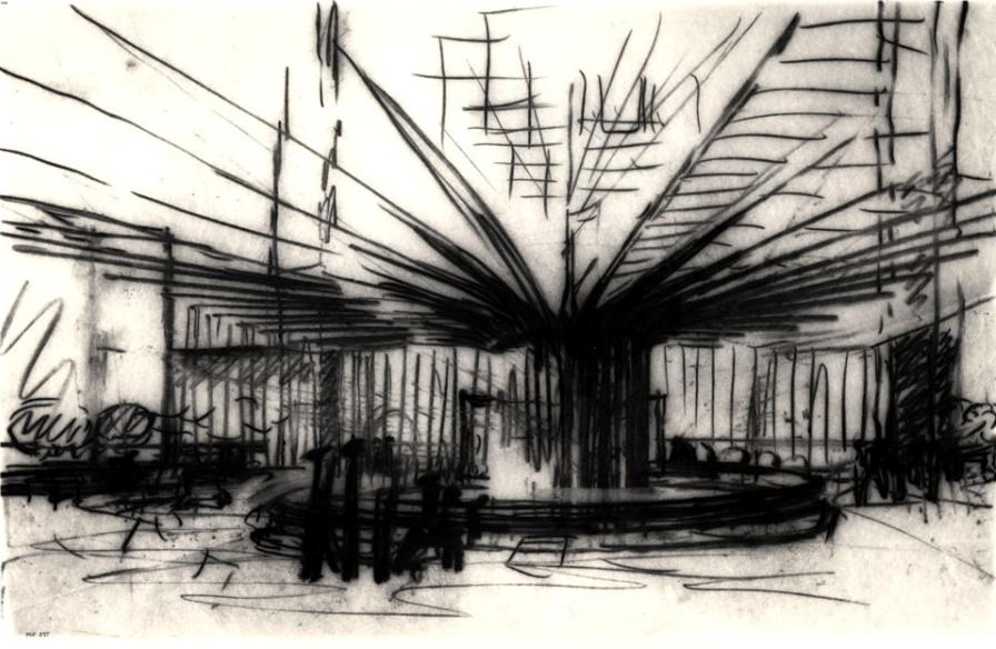 "Louis Kahn Architecture ""Tree-Form"""