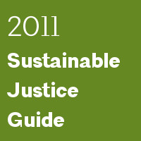 2011 Sustainable Justice Guide