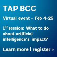 TAP Building Connections Congress (virtual event) Feb 4-25. Click here to learn more and register