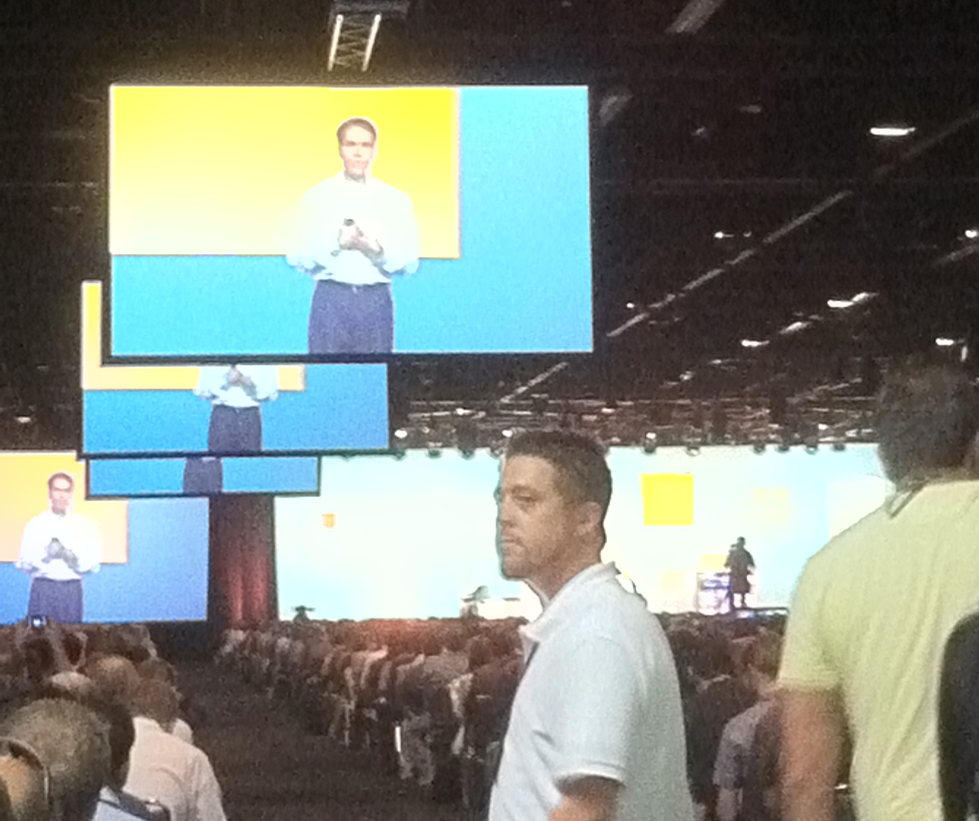Jeff Teper at Microsoft SharePoint Conference 2011