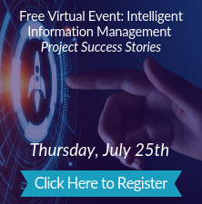 Free Virtual Event: Intelligent Information Management Project Success Stories