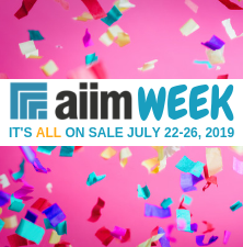 Celebrate AIIM Week w/ 5 Days of Epic Deals
