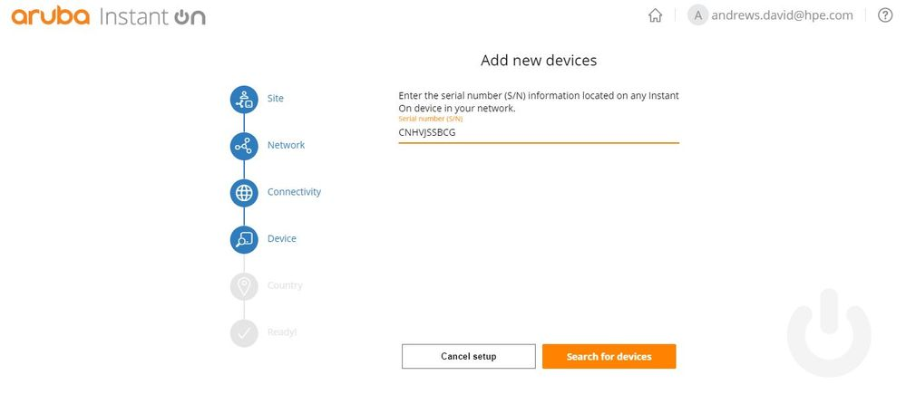 Add new devices