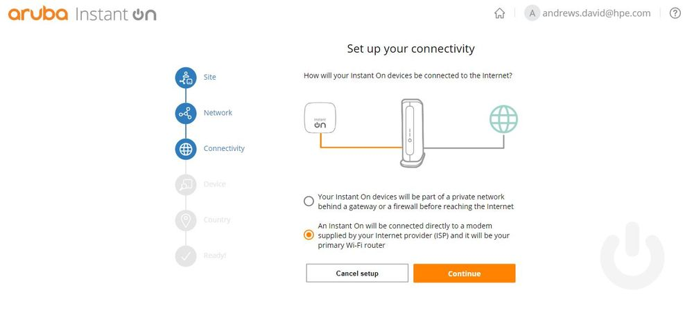 Set up your connectivity