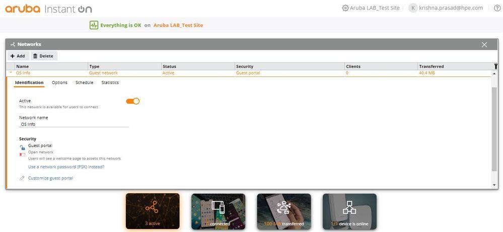 Captive Portal Authentication