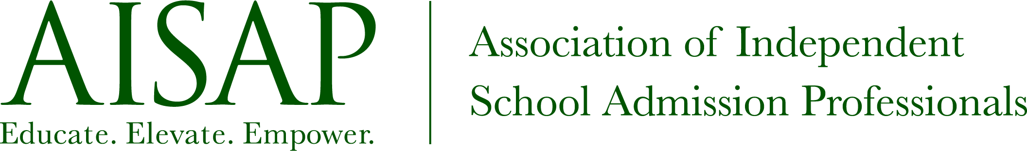 AISAP - Association of Independent  School Admission Professionals