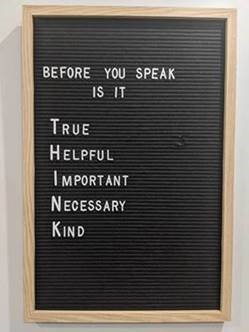before you speak is it