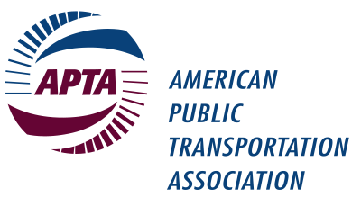 American Public Transportation Assocation (APTA) logo