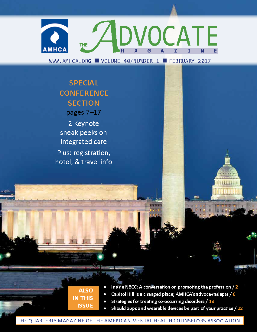 The Advocate Magazine American Mental Health Counselors Association