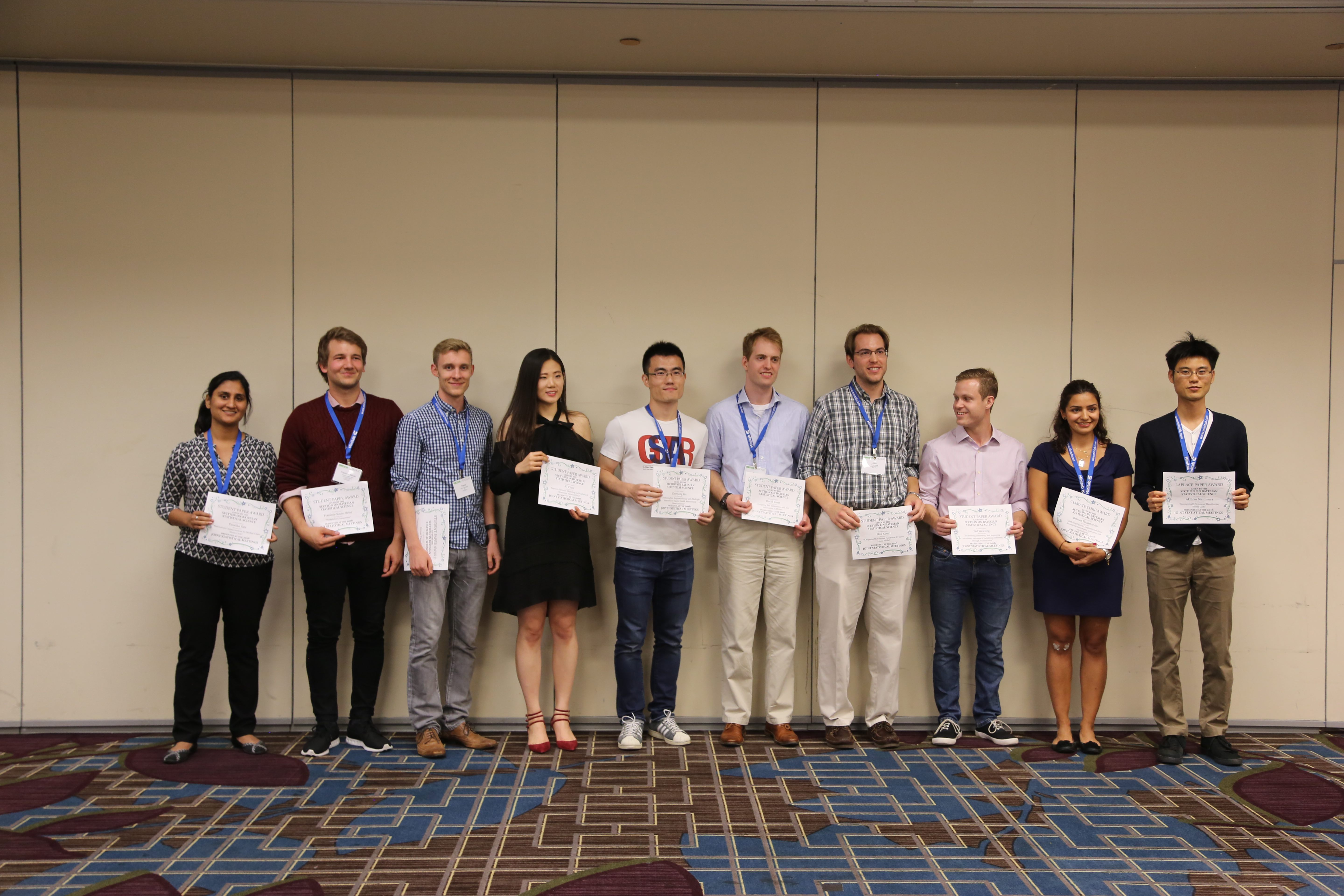 Paper Competition Winners - SBSS