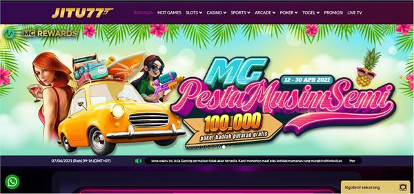 Situs Judi Promo Bonus Slot 100 Terbaru 2021