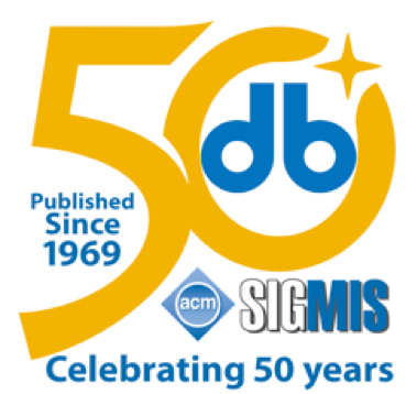 The DATA BASE for Advances in Information Systems, the longest continually published MIS journal. Celebrating 50 years!