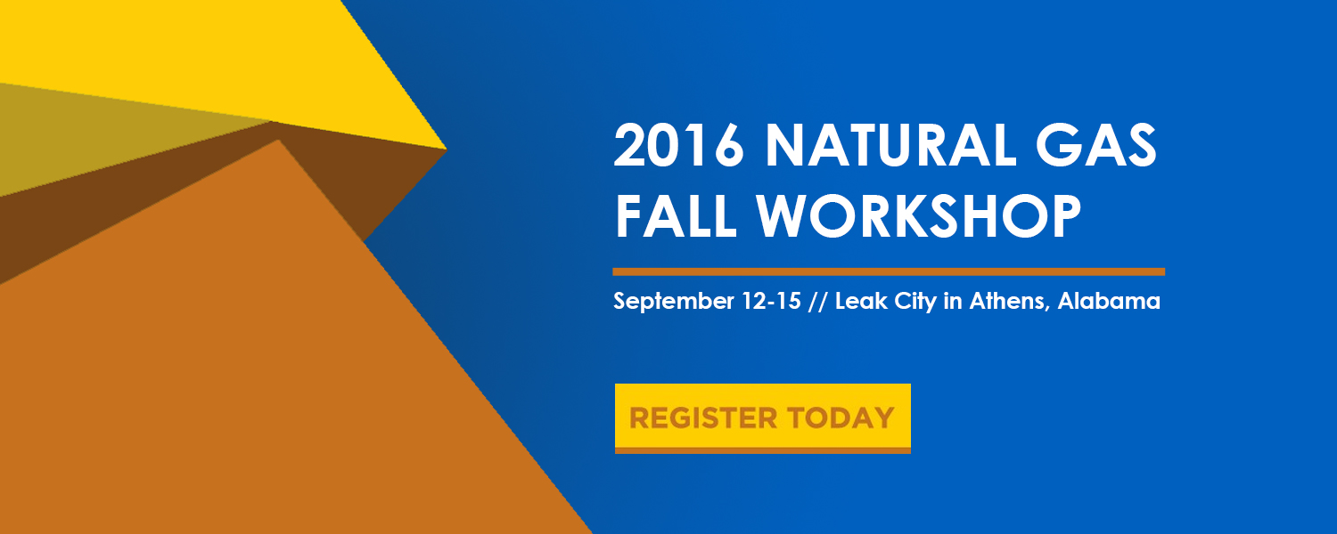 2016 Natural Gas Fall Workshop