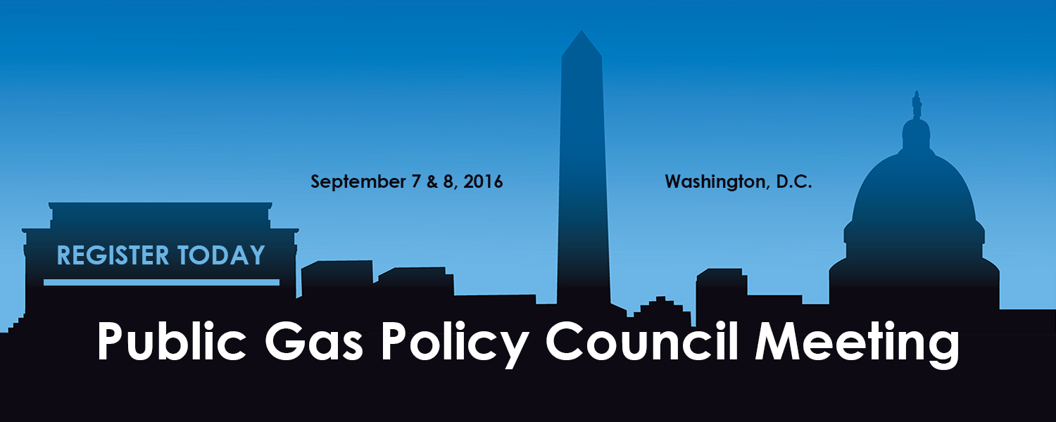 Public Gas Policy Council Meeting