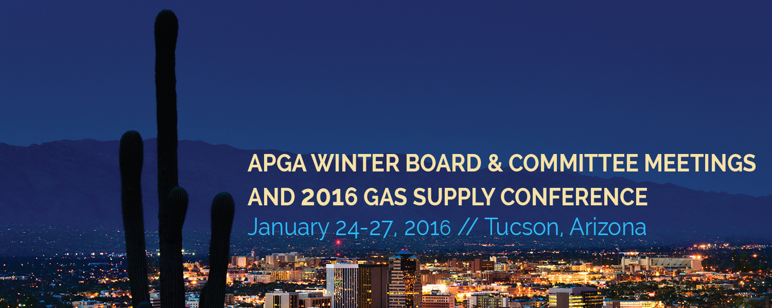 APGA Gas Supply Conference and Winter Board and Committee Meetings