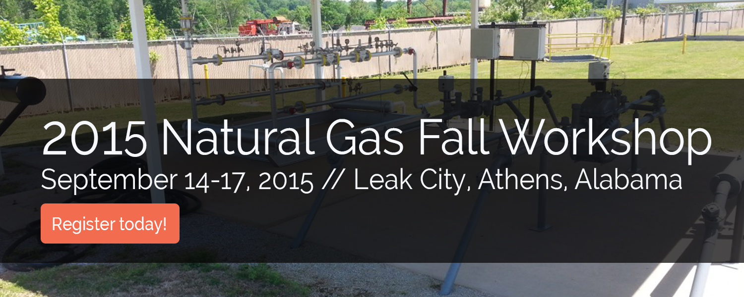 2015 Natural Gas Fall Workshop