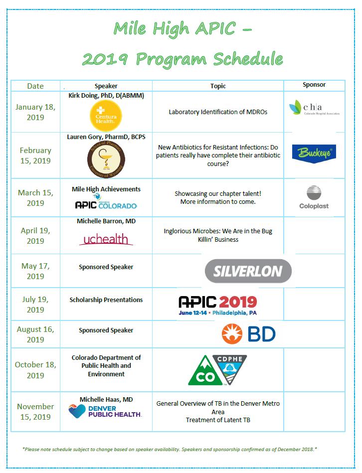 143092230cd 2018-2019 Speaker Schedule - MileHighColorado