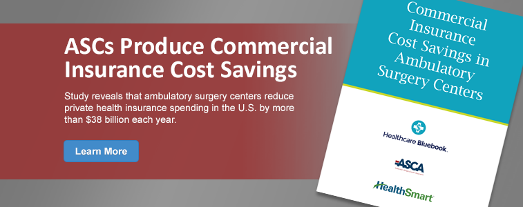 Commercial Insurance Cost Savings in Ambulatory Surgery Centers