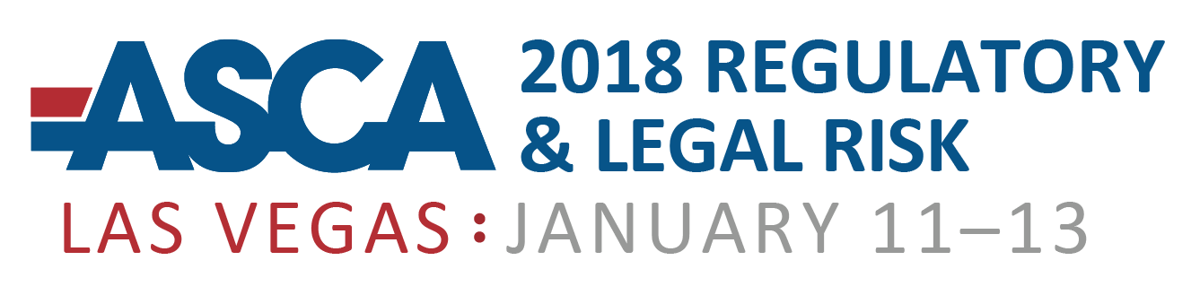 2018 Minimizing Your Regulatory & Legal Risk