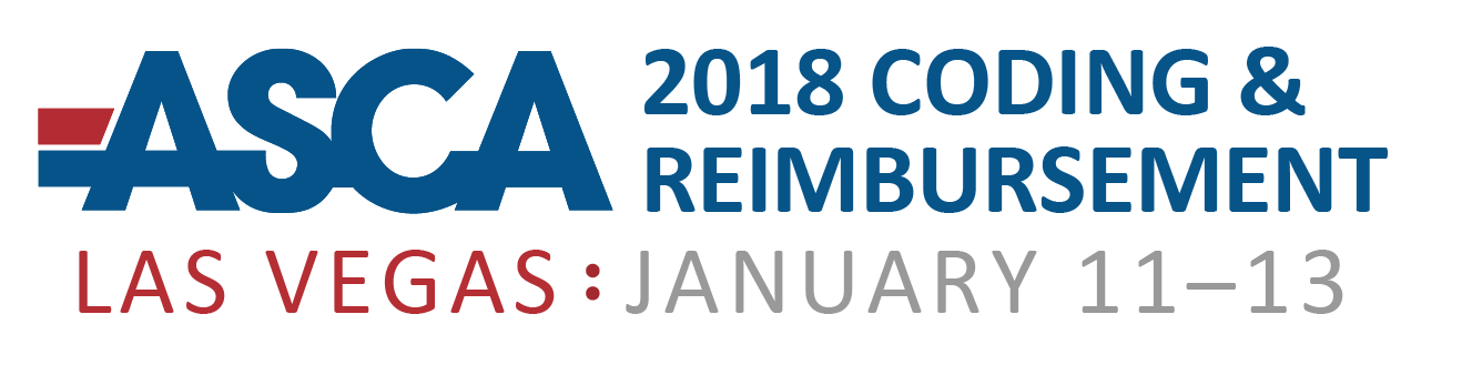 2018 Coding Update and Reimbursement Strategies Seminar