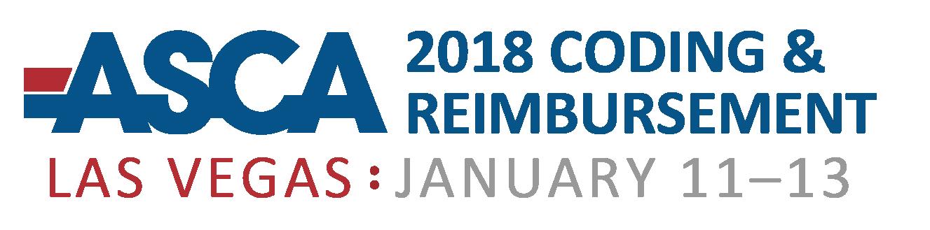 2018 Coding Update and Reimbursement Strategies Seminar