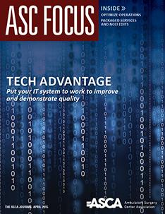 ASC Focus April 2015 Cover