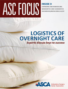 ASC Focus September 2015 Cover