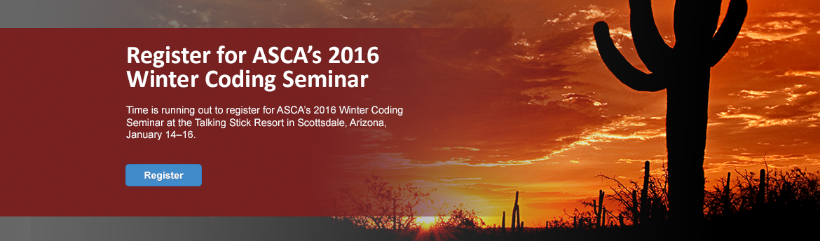 2016 Coding Seminar Early Discounts