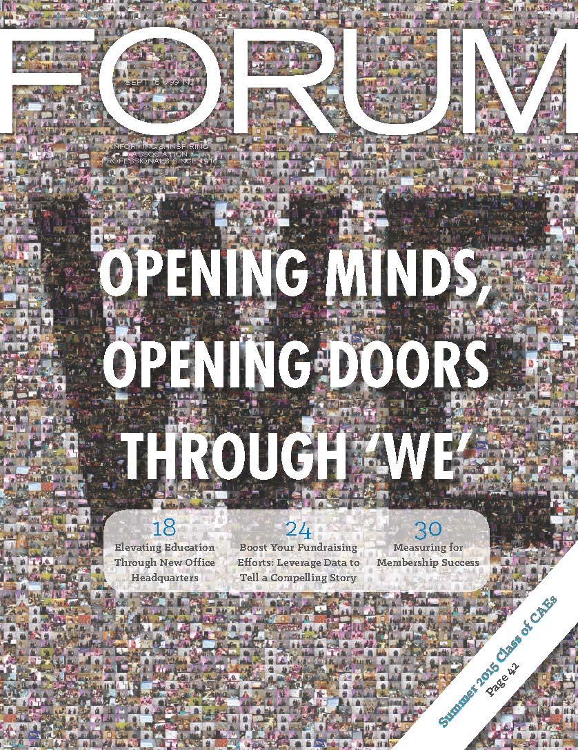 FORUM - September 2015