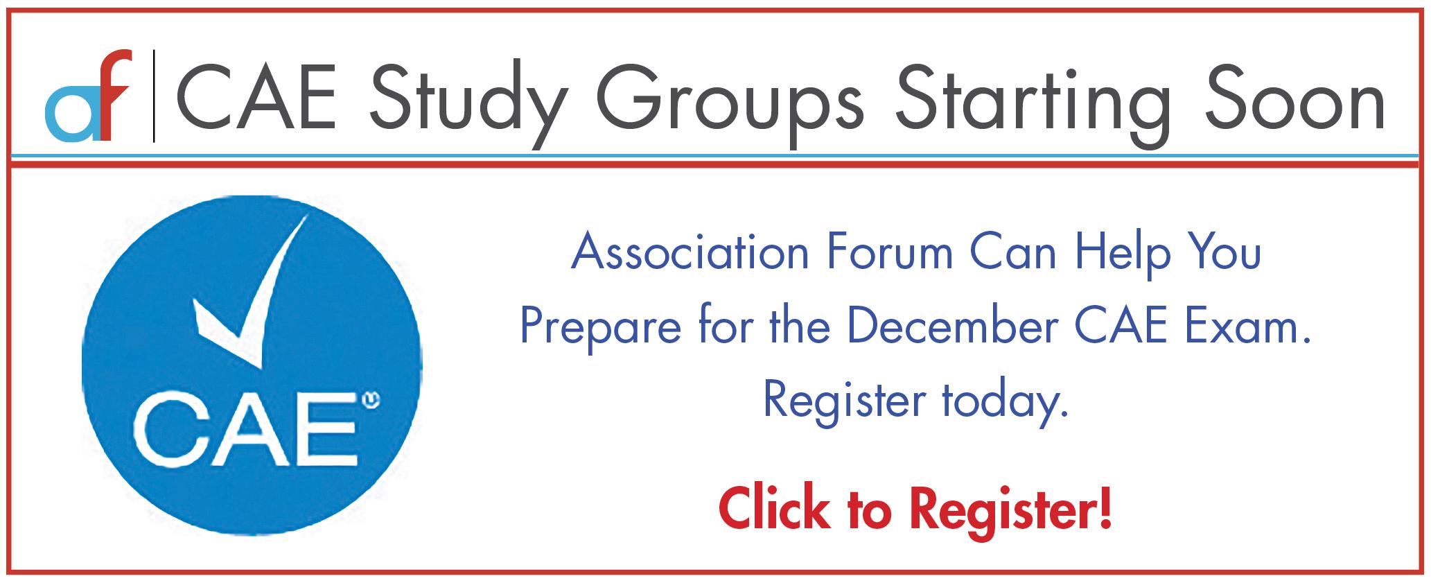 Cae Study Groups Association Forum
