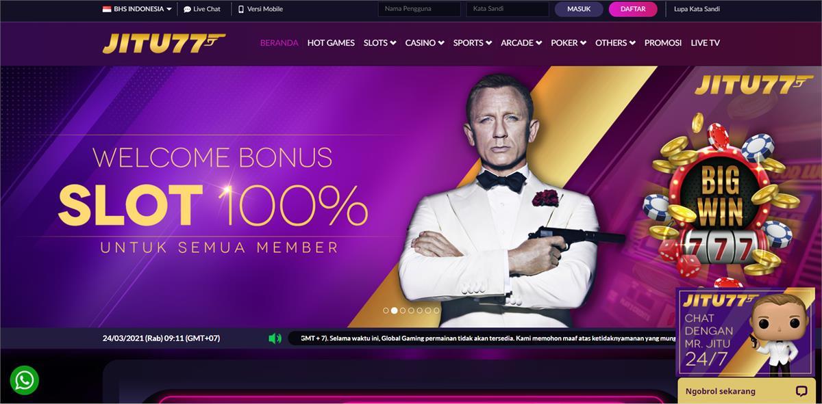 Jitu77 Daftar Situs Judi Slot Online Terbaik Terpercaya 2020 - 2021