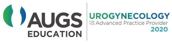 Urogynecology for the Advanced Practice Provider 2019