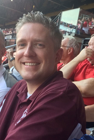 Brent Taylor at the St. Louis Cardinals baseball game during a NALBOH conference. He joined us at the NALBOH conferences in St. Louis and Louisville.