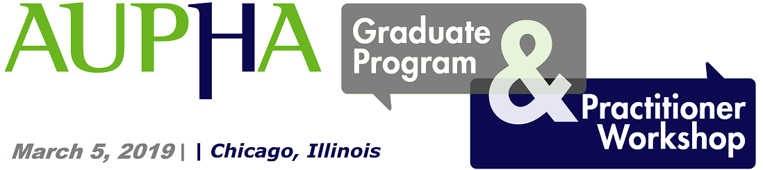 AUPHA Graduate Program and Practitioner Workshop