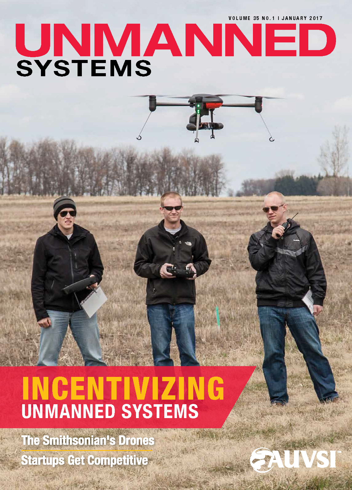 Unmanned Systems Magazine - January 2017